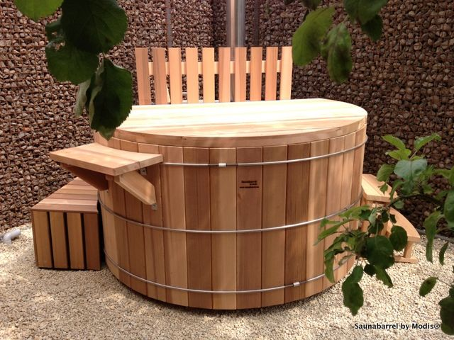 Hot tub 180cm: realization in Ninove.