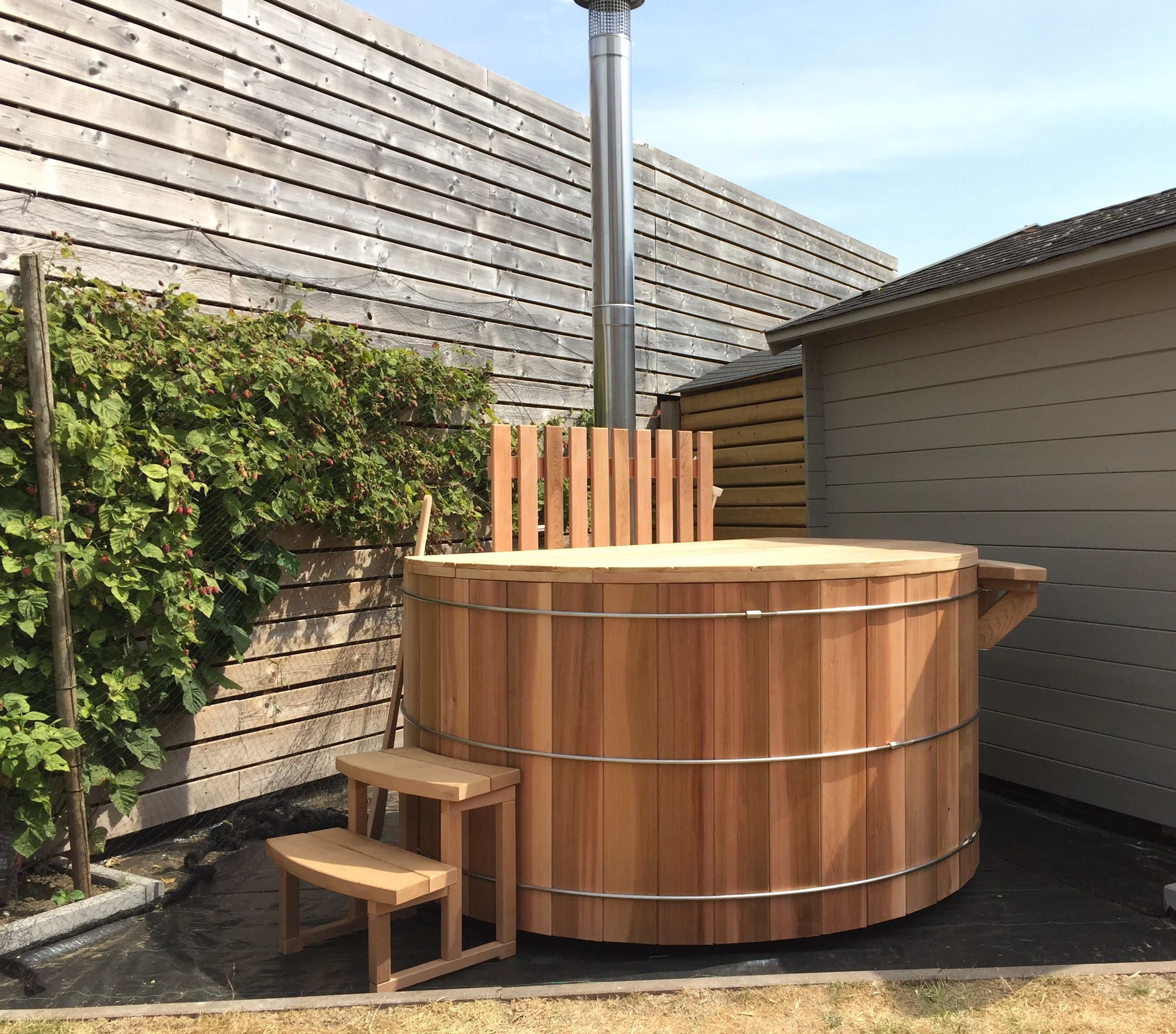 Hottub: realization in Koekelare.